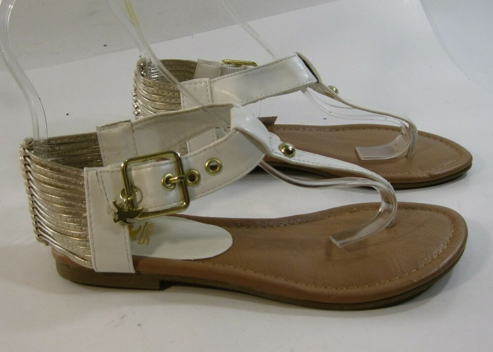 Summer New White Gold Women Shoes Roman Gladiator Sexy