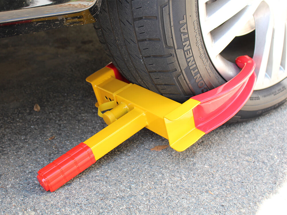 wheel tire lock cl parking boot anti theft for boat