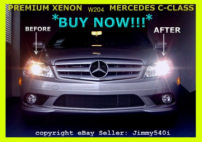 Hid Lamp For Car >> *XENON LIGHTS* for 2008~2014 MERCEDES-BENZ C-CLASS C300 / C250 / C350 -Jimmy540i | eBay