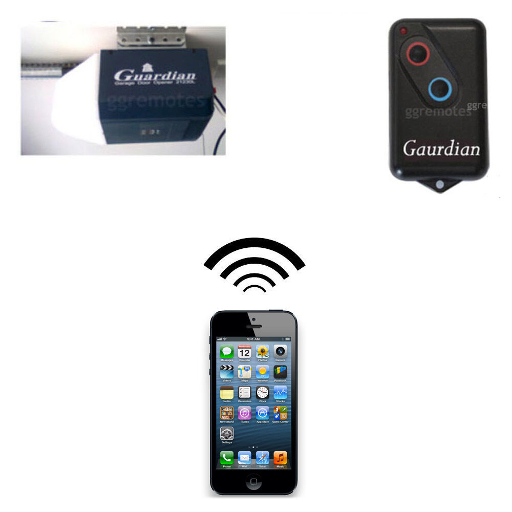 Iphone Remote Control Your Guardian 21230 21230l 2211 L Garage Door