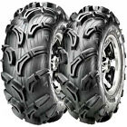 NEW SET 4 MAXXIS BABY ZILLA ATV UTV TIRES MUD 25X8-12 FRONT AND 25X10-12 REAR