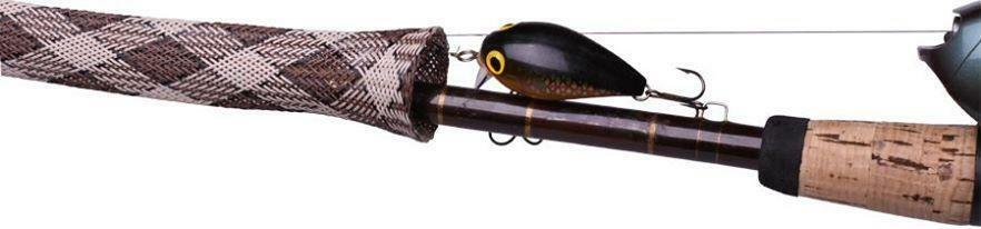 Stick jacket fishing rod cover casting model for Camo fishing pole