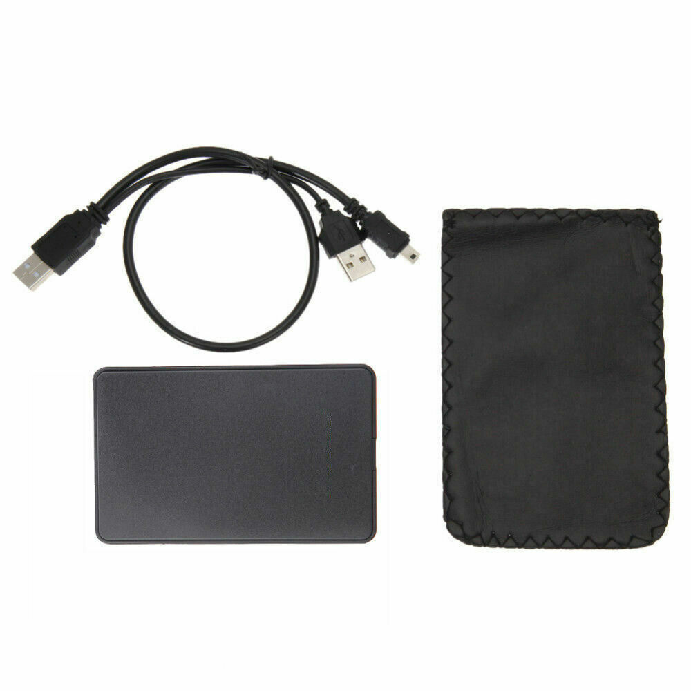 "2.5"" Inch Black Sata USB 2.0 Hard Drive HDD Enclosure ..."
