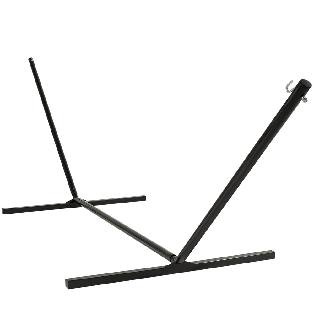 Hammock stand 15 39 solid steel beam construction outdoor for Construction stand