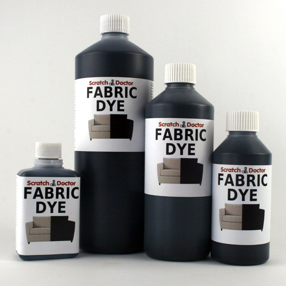 black liquid fabric dye for sofa clothes denim upholstery etc all sizes ebay. Black Bedroom Furniture Sets. Home Design Ideas