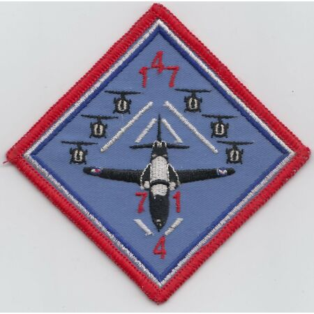 img-RAF no. 147 Course Royal Air Force Embroidered Crest Badge Patch