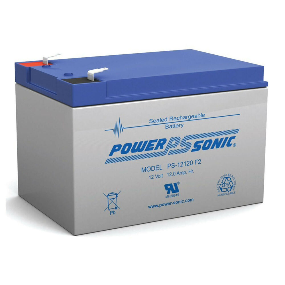 Lithium Ion Car Battery >> Power-Sonic UB12120 12v 12Ah 12 volt 12 Amp-hr BATTERY SLA | eBay