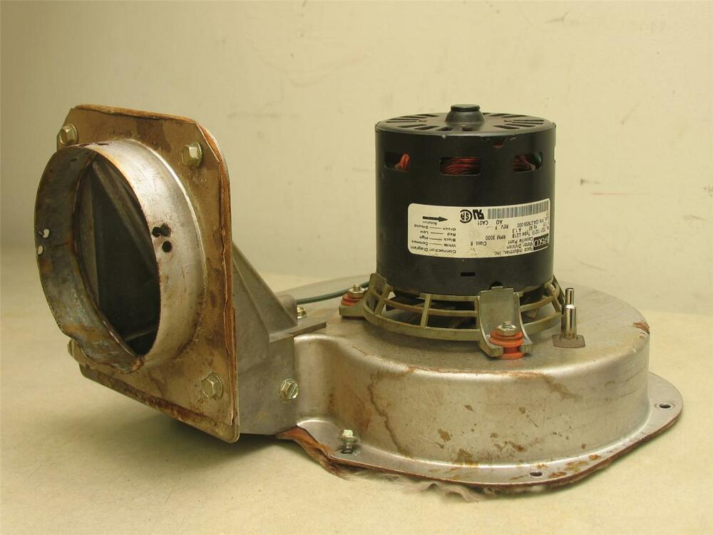 Fasco 7021 10213 draft inducer blower motor assembly 17452 for Fasco motors and blowers
