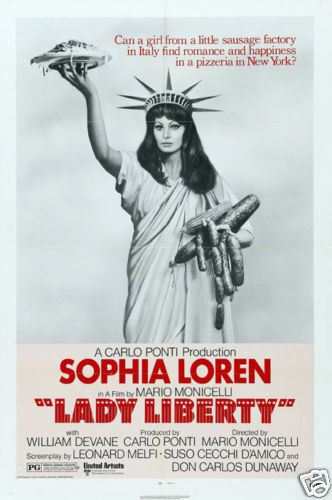 la mortadella sophia loren cult movie poster print ebay