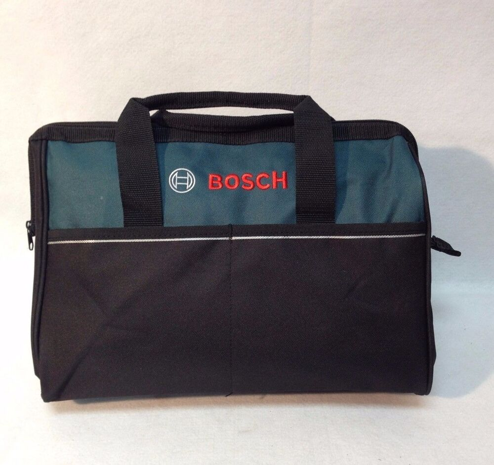 "New Bosch 16"" Canvas Carring Tool Bag 2610023279 For 18v"