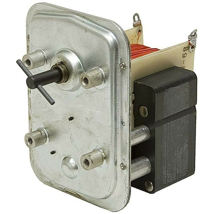 118 rpm 115 volt ac shaded pole gearmotor 5 1714 ebay for Low rpm electric motor for rotisserie