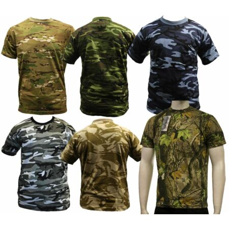 img-CAMO ARMY MILITARY COMBAT T-SHIRTS TEES S-3XL