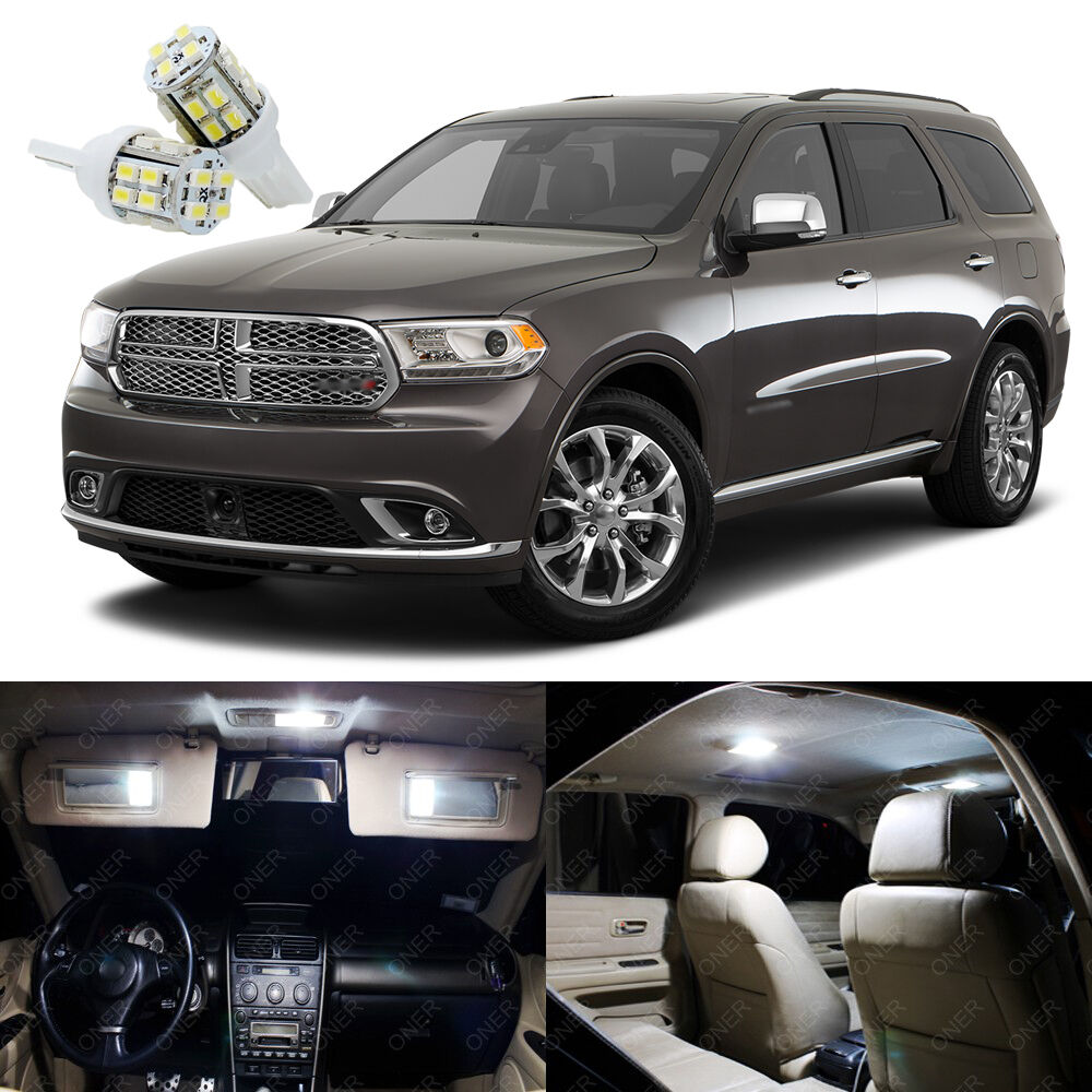 17 X Xenon White Led Interior Light Package Kit For Dodge Durango 2011 2017 Ebay