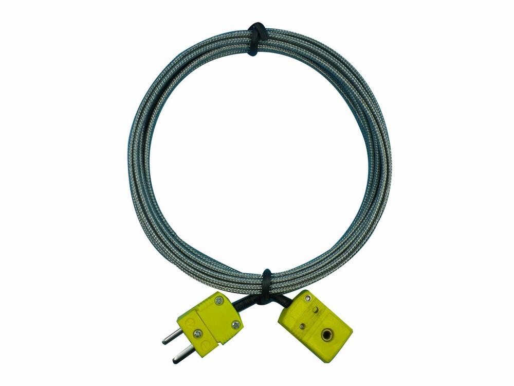 Thermocouple Extension Cable : K type thermocouple sensors extension cable with male and