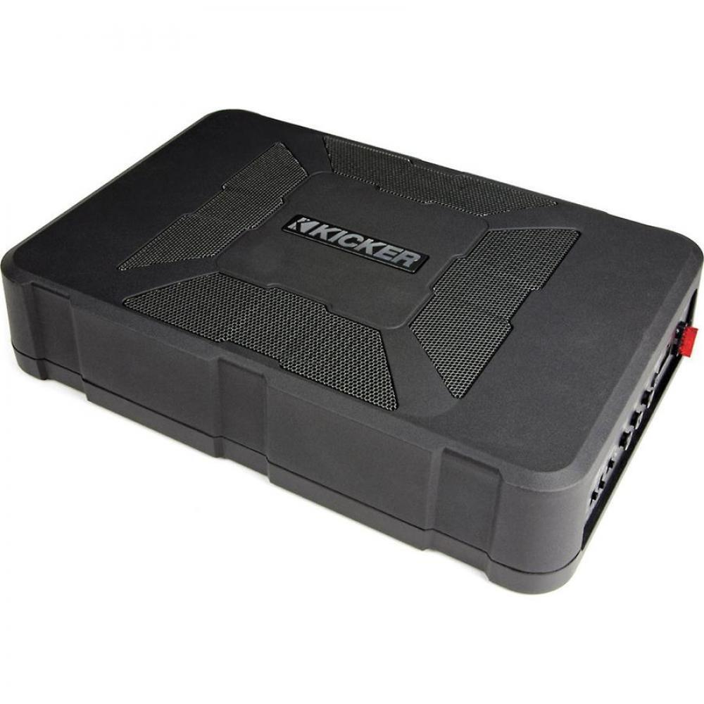 """Kicker HS8 8"""" Amplified Compact Under Seat Car Subwoofer"""