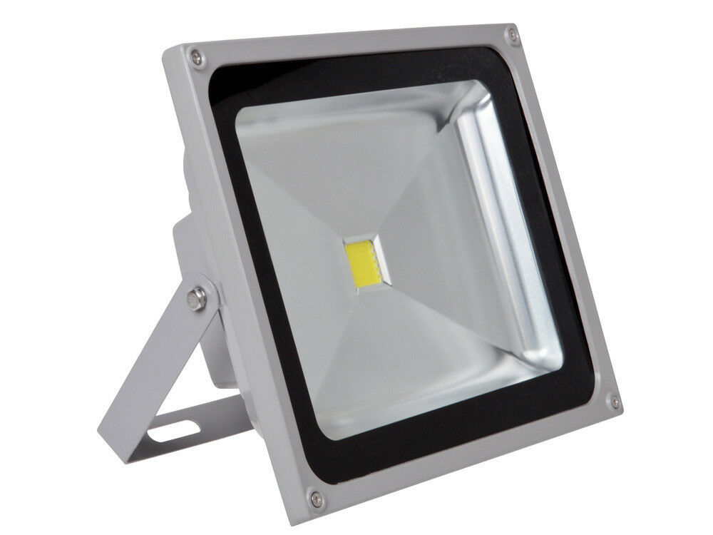 50w white high power led outdoor landscape wash flood light spotlight waterproof ebay. Black Bedroom Furniture Sets. Home Design Ideas