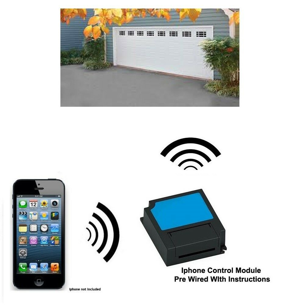 Open Your Garage Door Using Your Iphone Amp Ipad As A Remote