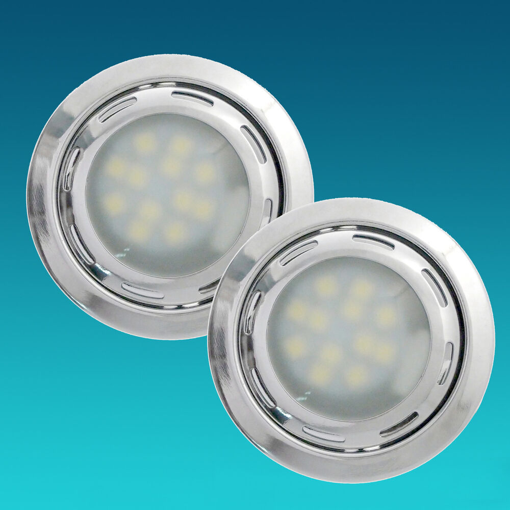 2pcs g4 12 smd 5050 led 12v cool white kitchen under cabinet light marine boat ebay. Black Bedroom Furniture Sets. Home Design Ideas