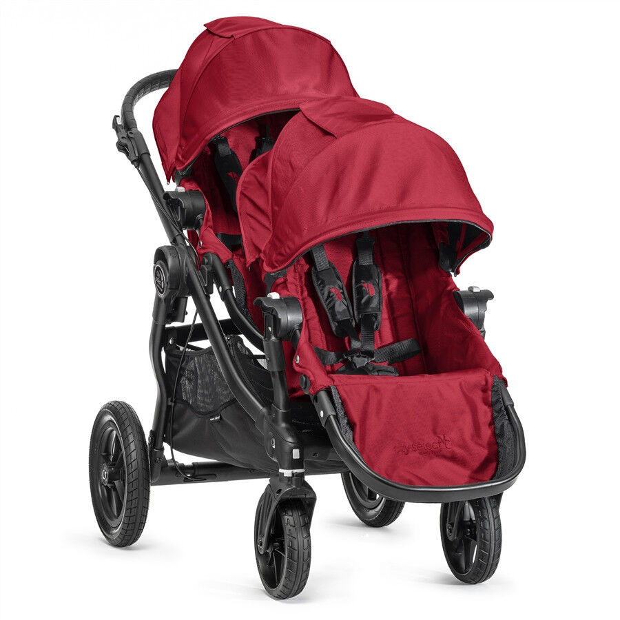 Baby Jogger 2015 City Select Double Stroller Red On