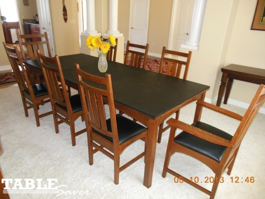 BLONDE WOOD GRAIN CUSTOM DINING TABLE PADS KITCHEN  : s l1000 from www.ebay.com size 900 x 675 jpeg 82kB