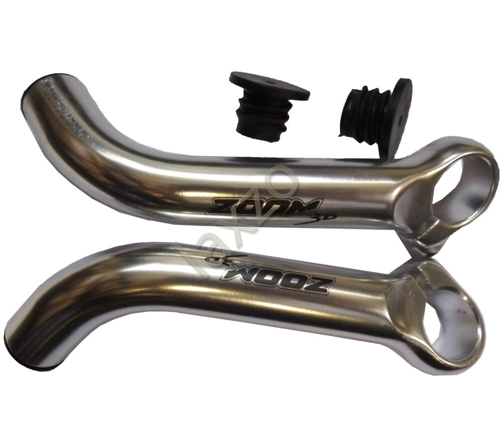 Zoom 3d Bicycle Mountain Bike Cycle Handlebar Ends Alloy