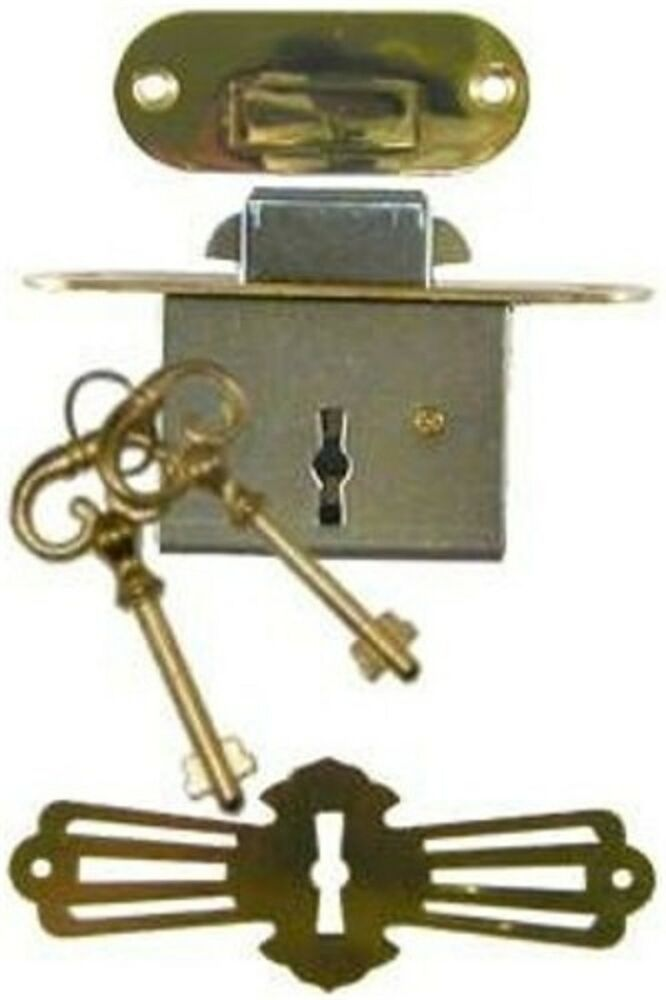 Antique Replacement Parts : Roll top desk lock set rounded plates m ebay