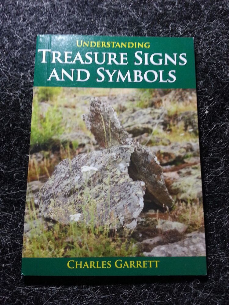 Treasure Signs Symbols Metal Detecting Detector Book By