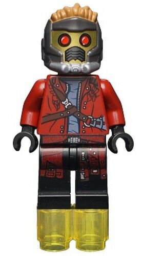 lego 76019 marvel super heroes star lord mini figure. Black Bedroom Furniture Sets. Home Design Ideas