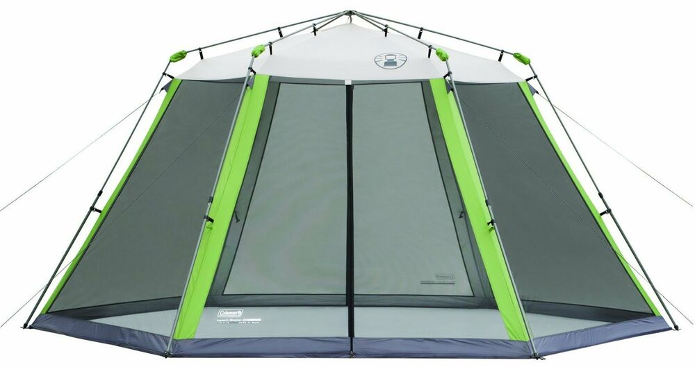 New Coleman 15 X 13 Instant Screened Shelter Camping