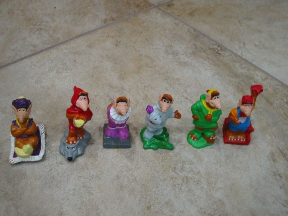 1990 S Toys : Wendy s kids meal toy alf tales complete set of