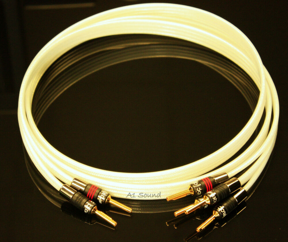 QED XT Silver Anniversary Bi-Wire Cable 1x 1 m 2-4 Metal Airloc ...
