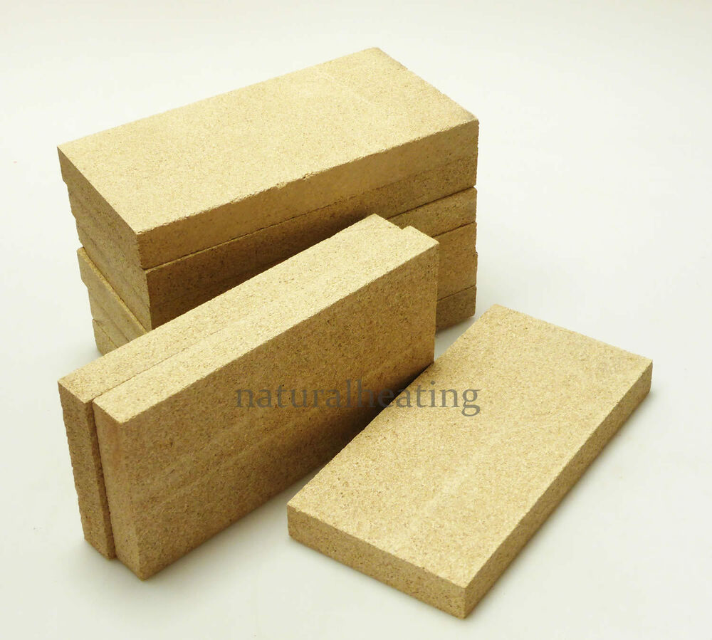 Wood Stove Fire Bricks 4 9 : Replacement vermiculite stove bricks quot fire