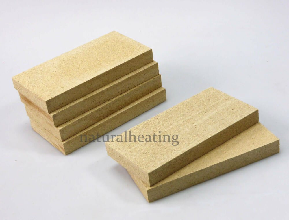 Replacement Fire Brick : Replacement vermiculite stove bricks mm spare