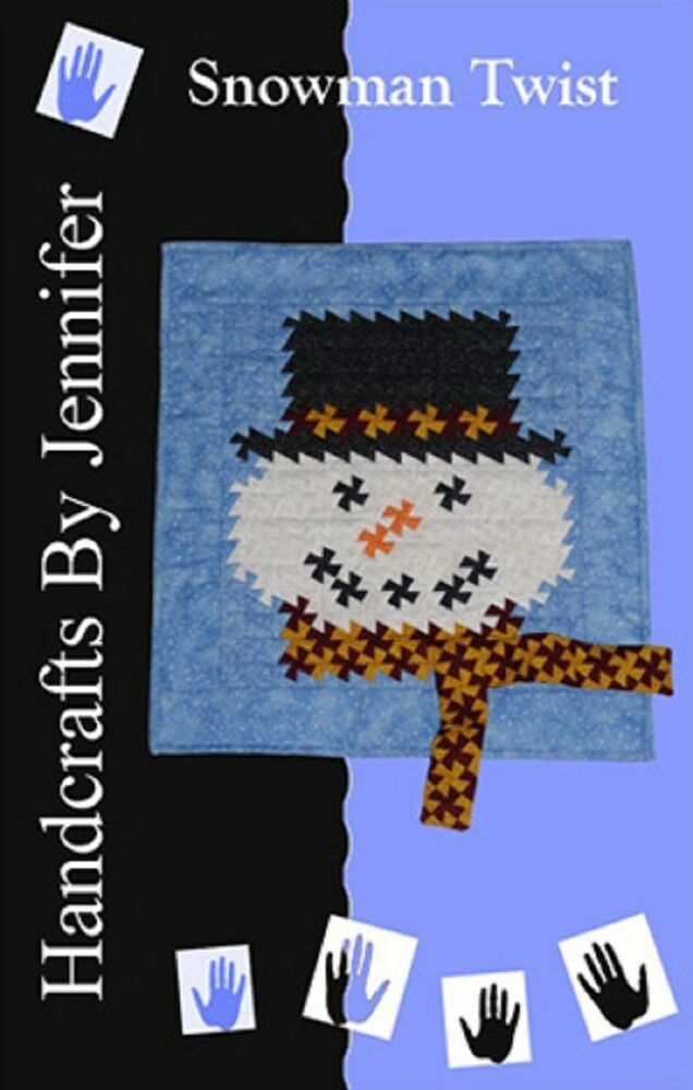 Snowman Twist Handcrafts By Jenniefer Quilting Sewing