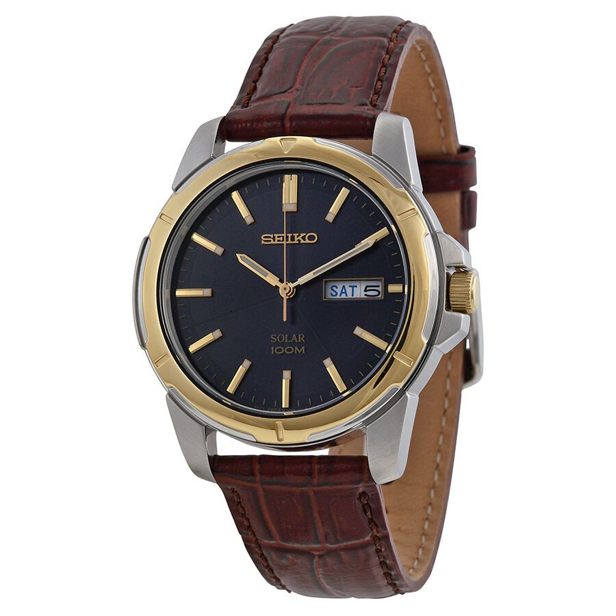 Seiko functional solar mens watch sne102 ebay for Watches on ebay