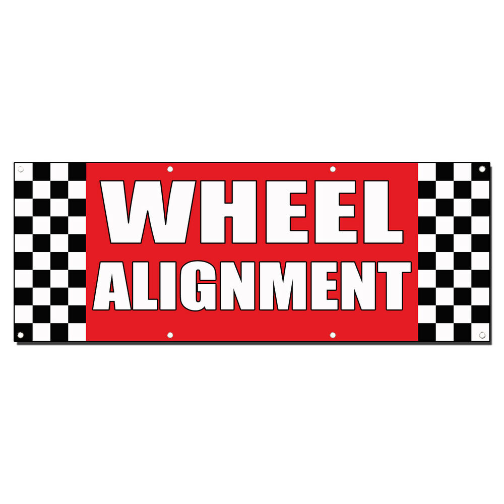 Wheel Alignment Auto Body Shop Car Repair Banner Sign 3 Ft. Modern Cafe Signs Of Stroke. Spotting Signs. Matching Signs. Algorithm Signs Of Stroke