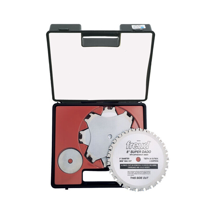 Freud sd508 super dado series 8 inch dado saw blade with 6 for 10 dado blade for table saw