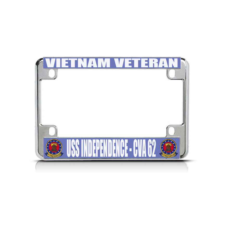 Vietnam Veteran Uss Independence Cva 62 Chrome