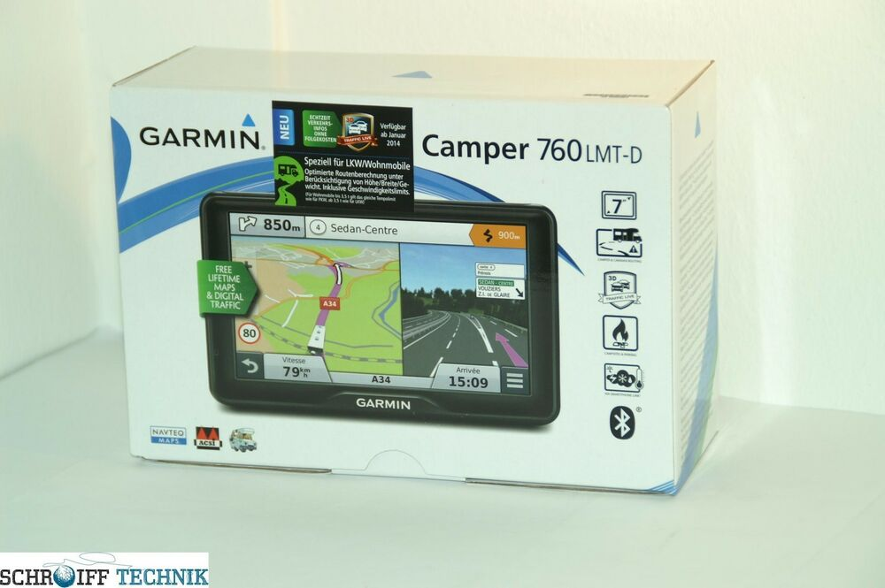 garmin camper 760 lmt d europa wohnmobil pkw art nr 010. Black Bedroom Furniture Sets. Home Design Ideas