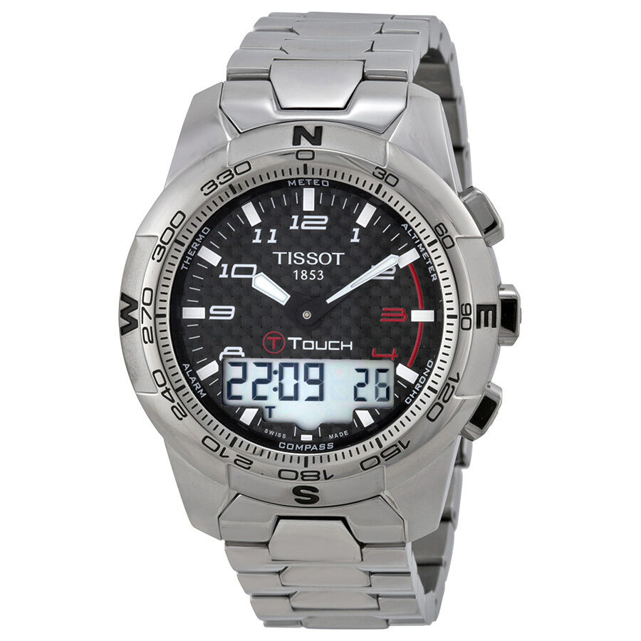 Tissot T-Touch II Mens Analog-Digital Watch T047.420.44 ...