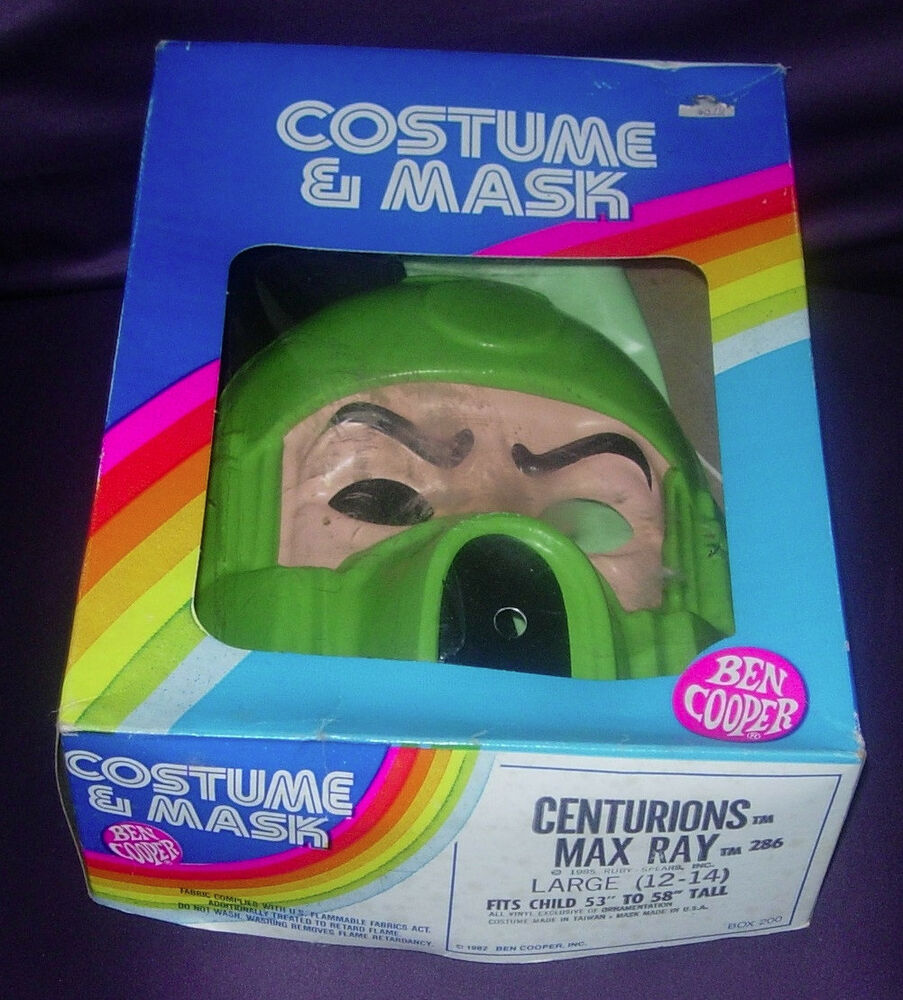Details About BEN COOPER CENTURIONS MAX RAY HALLOWEEN COSTUME 1985 RUBY  SPEARS