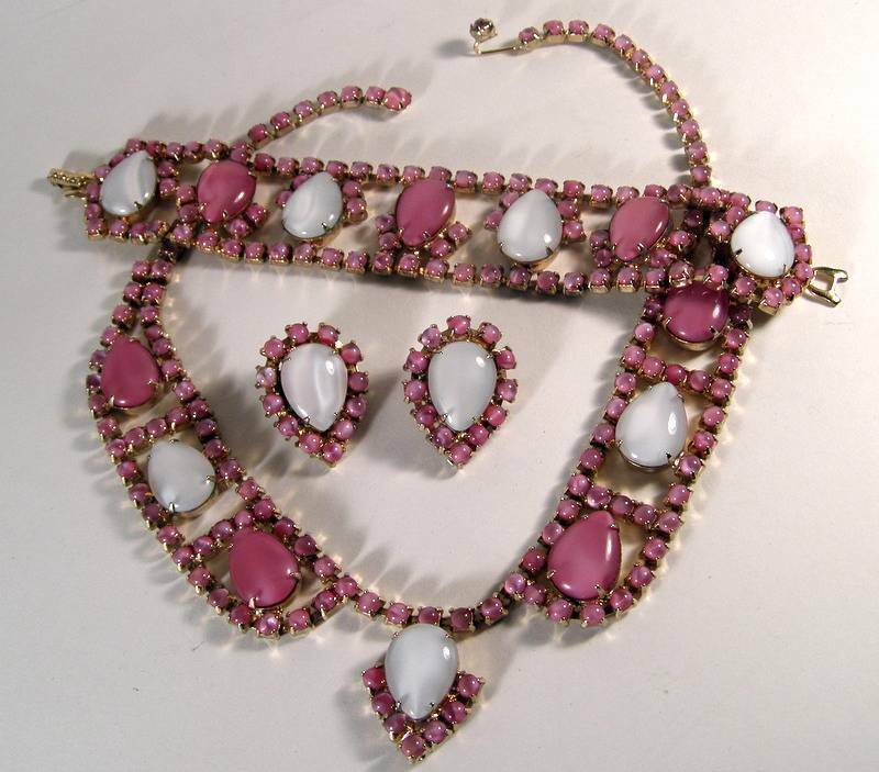 pink moonstone jewelry vintage - photo #7