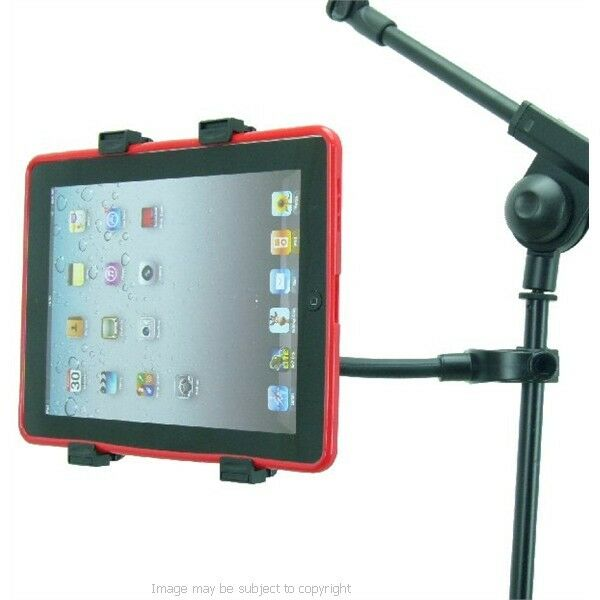 adjustable flexi music stand microphone stand mount tablet holder for ipad air ebay. Black Bedroom Furniture Sets. Home Design Ideas