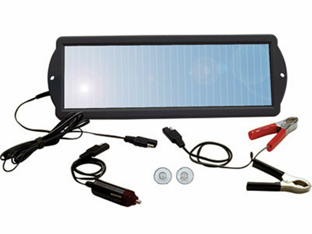 Outdoor 1 5W 12volt Solar Panel 12V Battery Charger Maintainer w Car ...