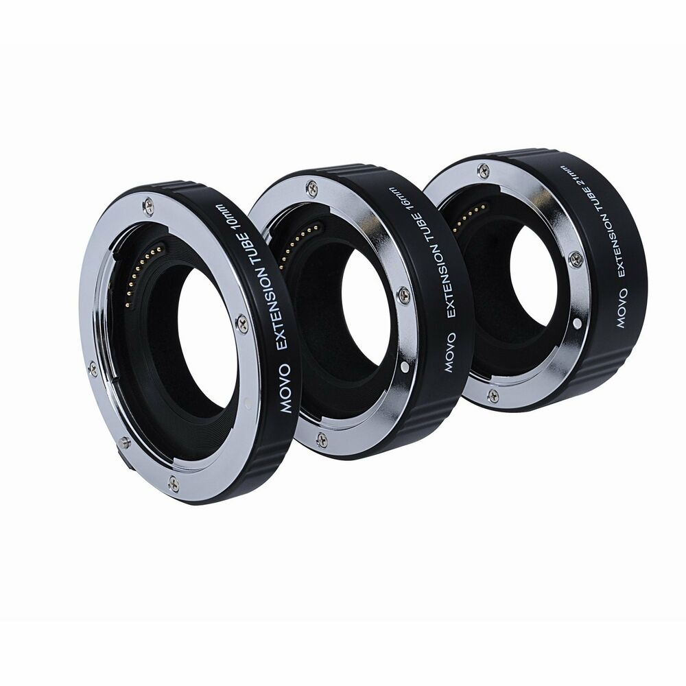 movo af macro extension tubes for olympus pen amp panasonic