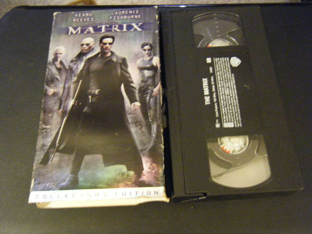 Sell Vhs Tapes >> The Matrix (VHS, 1999, Collector's Edition) | eBay