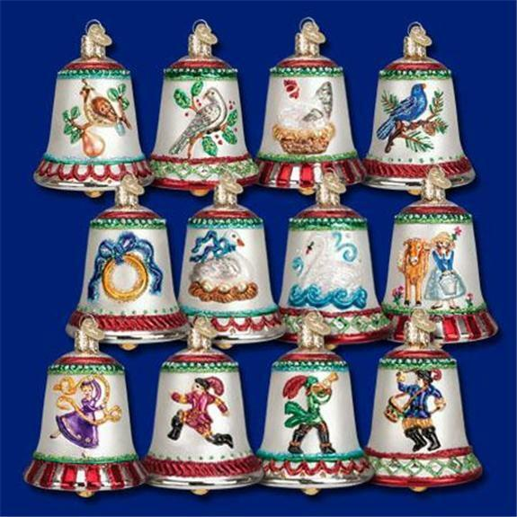 12 twelve days of christmas bells old world christmas List of christmas ornaments