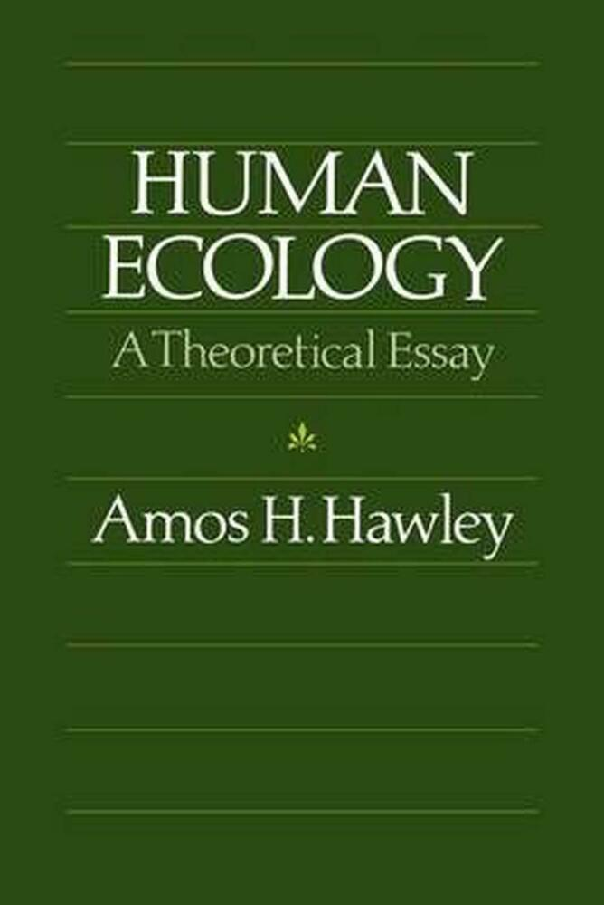 Essay on ecology