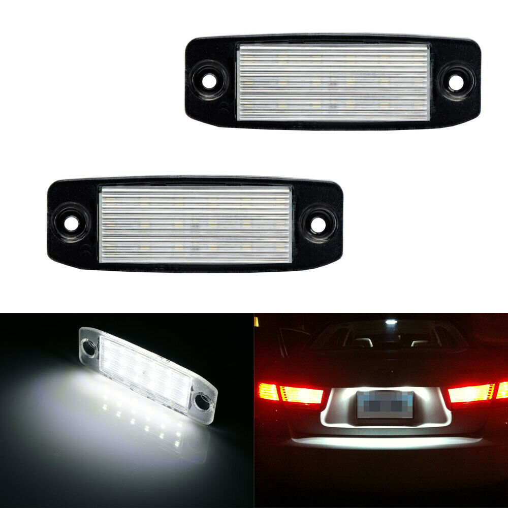 Direct Fit White Led License Plate Lights Lamps For 11 14 Hyundai Sonata I40 I45 Ebay