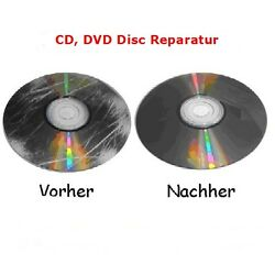 Kyпить Professionelle CD / DVD Disc Repair Reparatur ; Polieren ; Zerkratzt PS2, WII на еВаy.соm